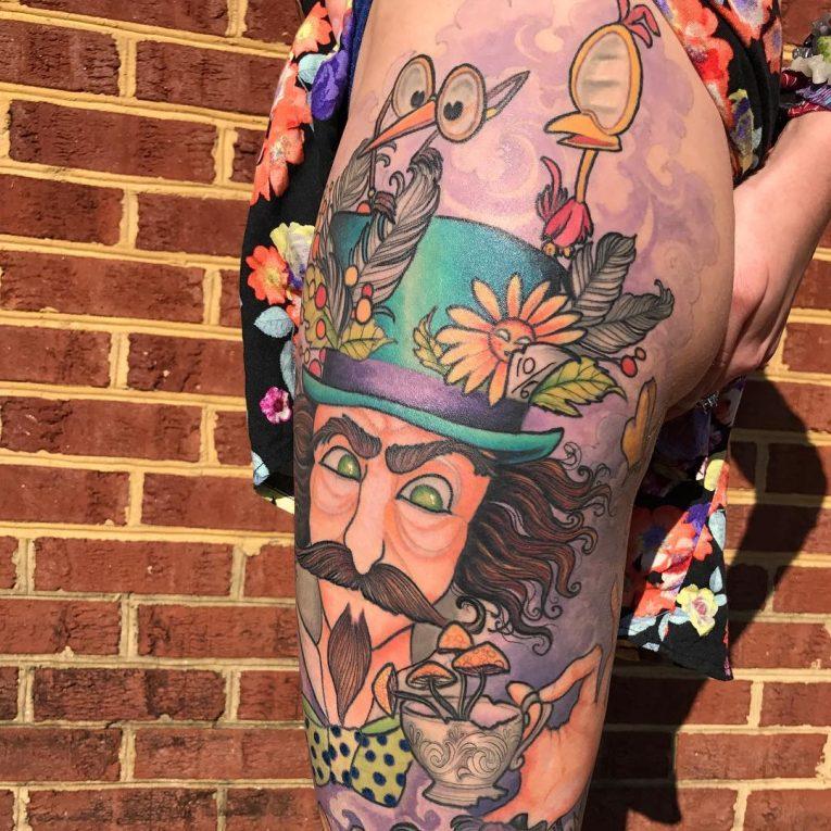 Alice in Wonderland Tattoo 98