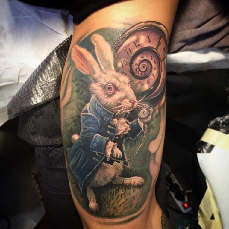 Alice in Wonderland Tattoo 99