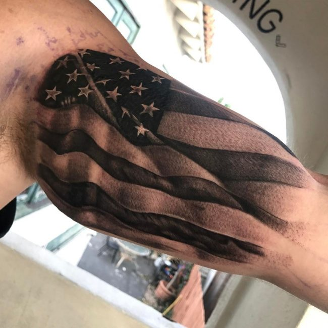 American Flag Tattoo 72