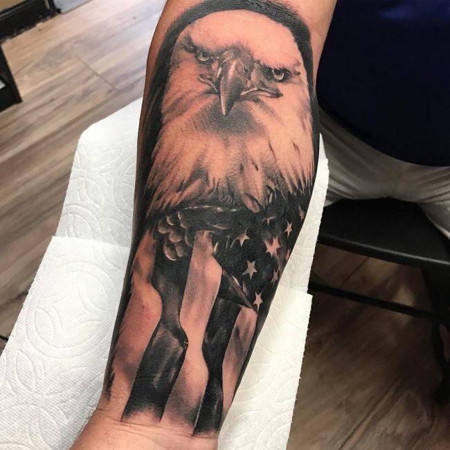 American Flag Tattoo 73