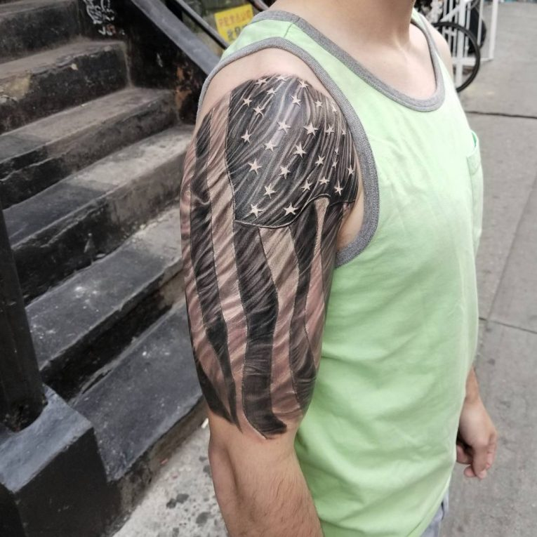 American Flag Tattoo 78