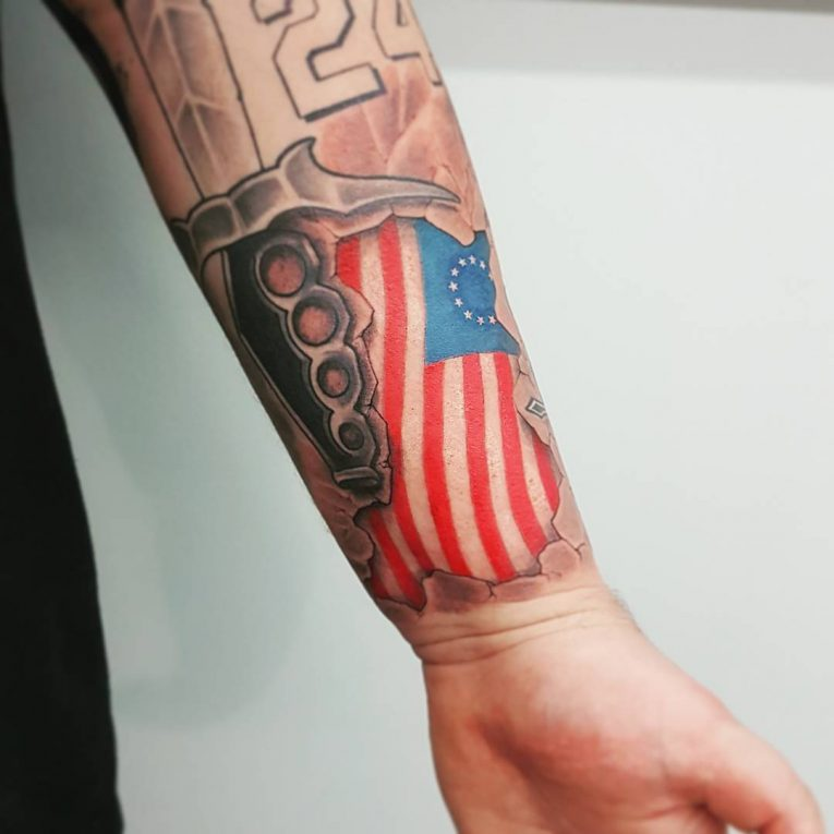 American Flag Tattoo 79