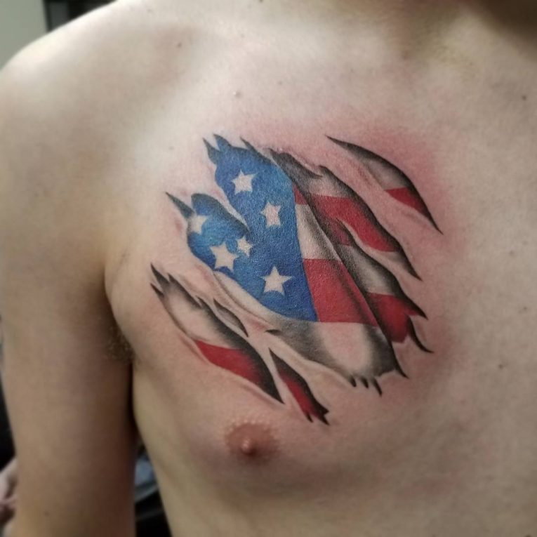 American Flag Tattoo 80