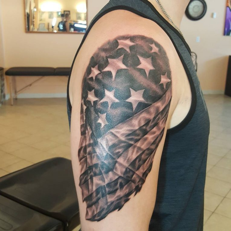 American Flag Tattoo 81