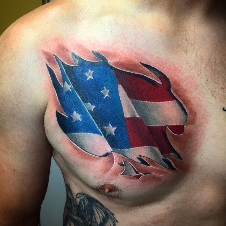 American Flag Tattoo 82