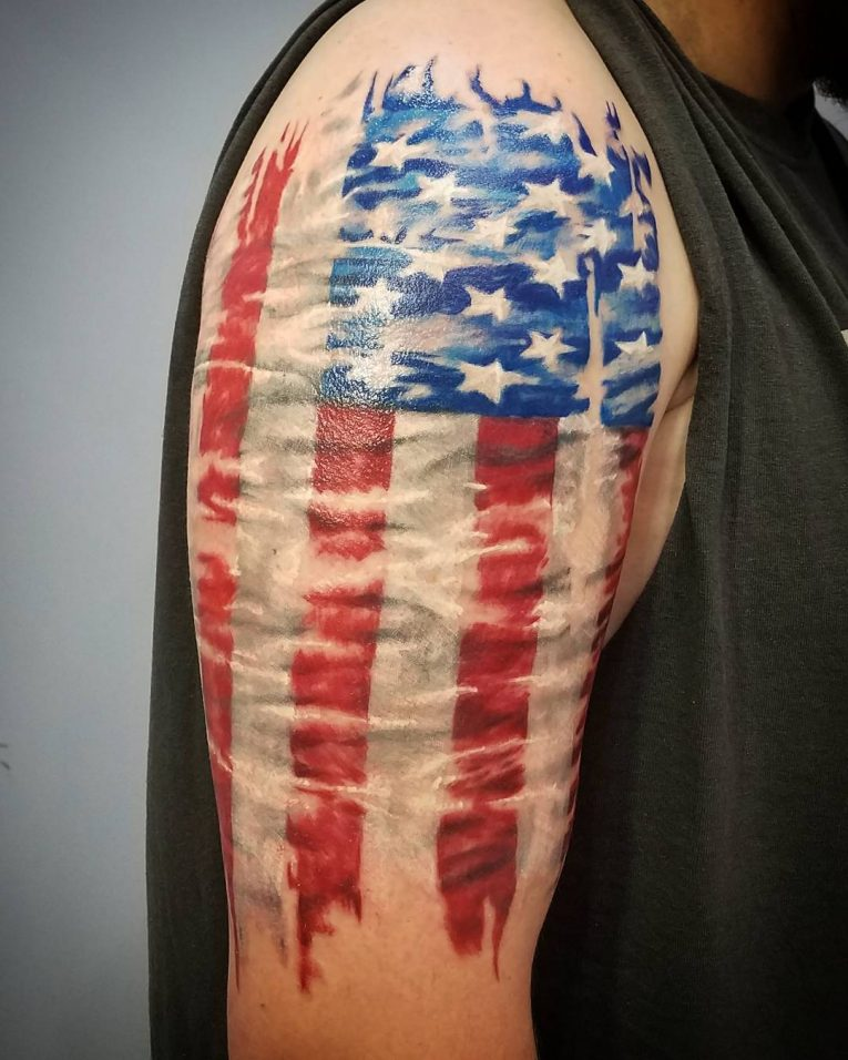 American Flag Tattoo 84