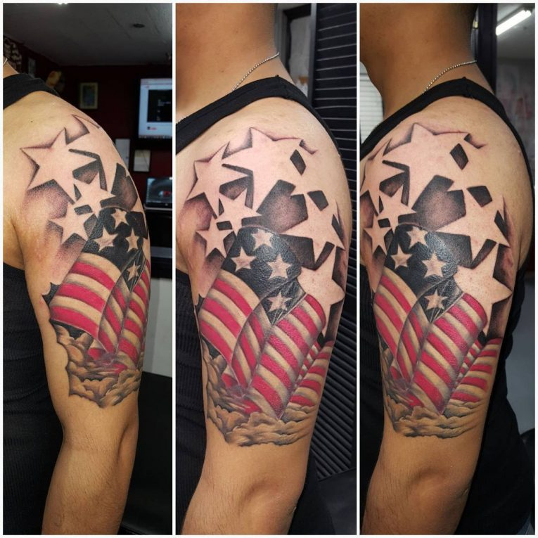 American Flag Tattoo 86