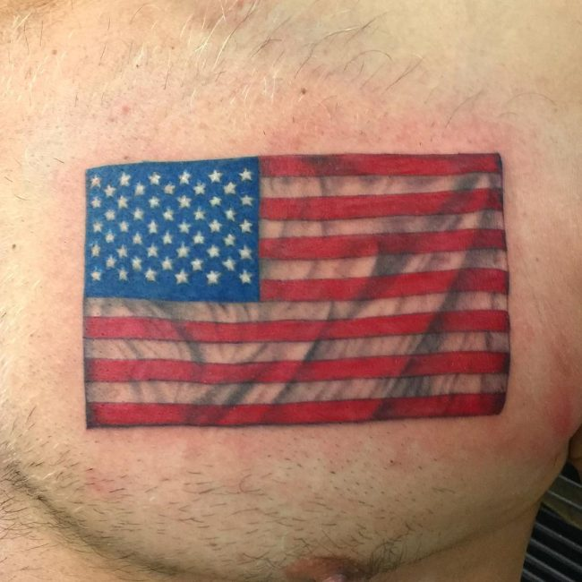 American Flag Tattoo