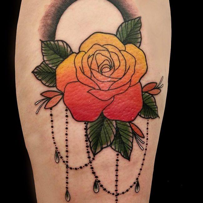 American Traditional Tattoo 104