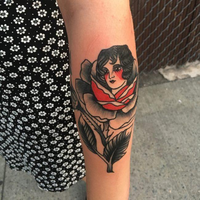 American Traditional Tattoo 105