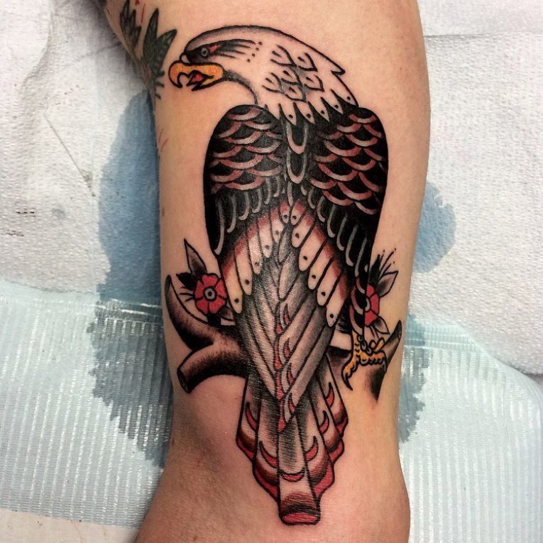 American Traditional Tattoo 113