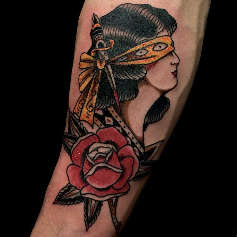 American Traditional Tattoo 119