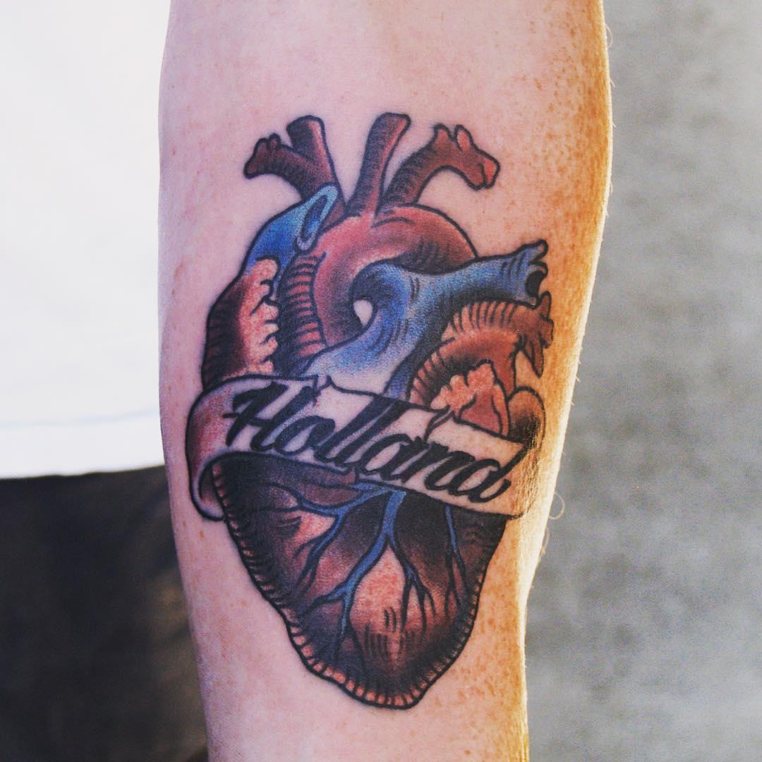Anatomy tattoo designs