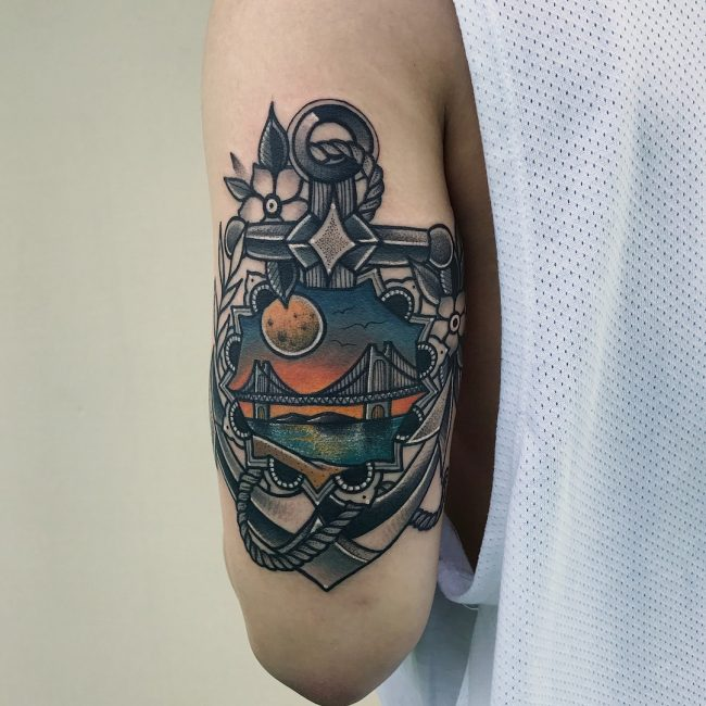 Anchor Tattoo 76
