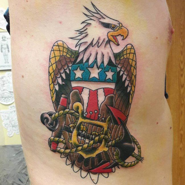 Anchor Tattoo 79