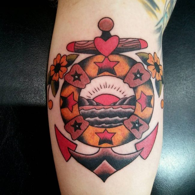 Anchor Tattoo 81