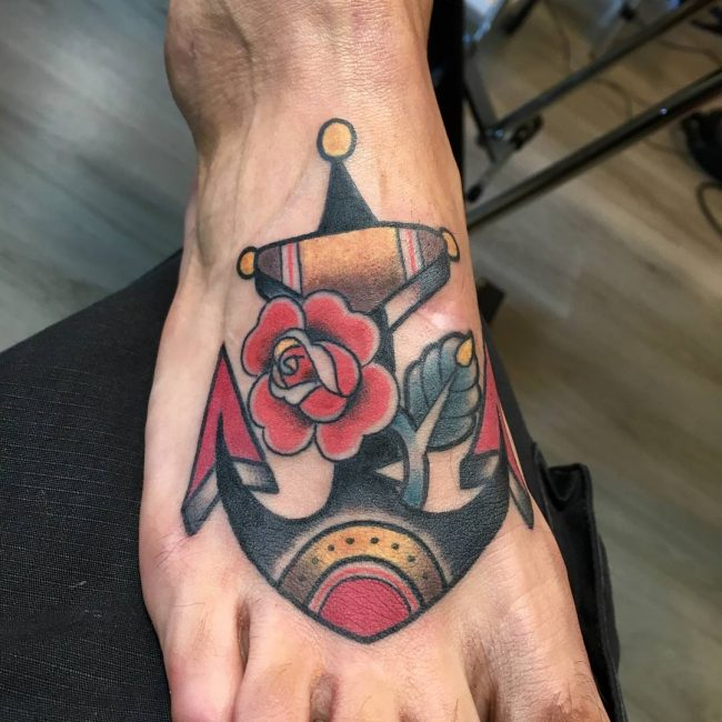 Anchor Tattoo 82