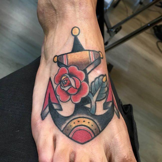 Anchor Tattoo 82