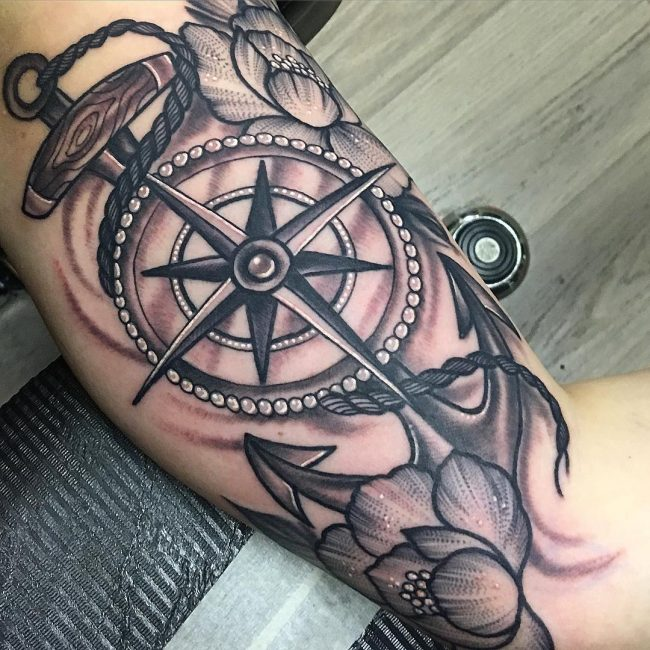 Anchor Tattoo 85