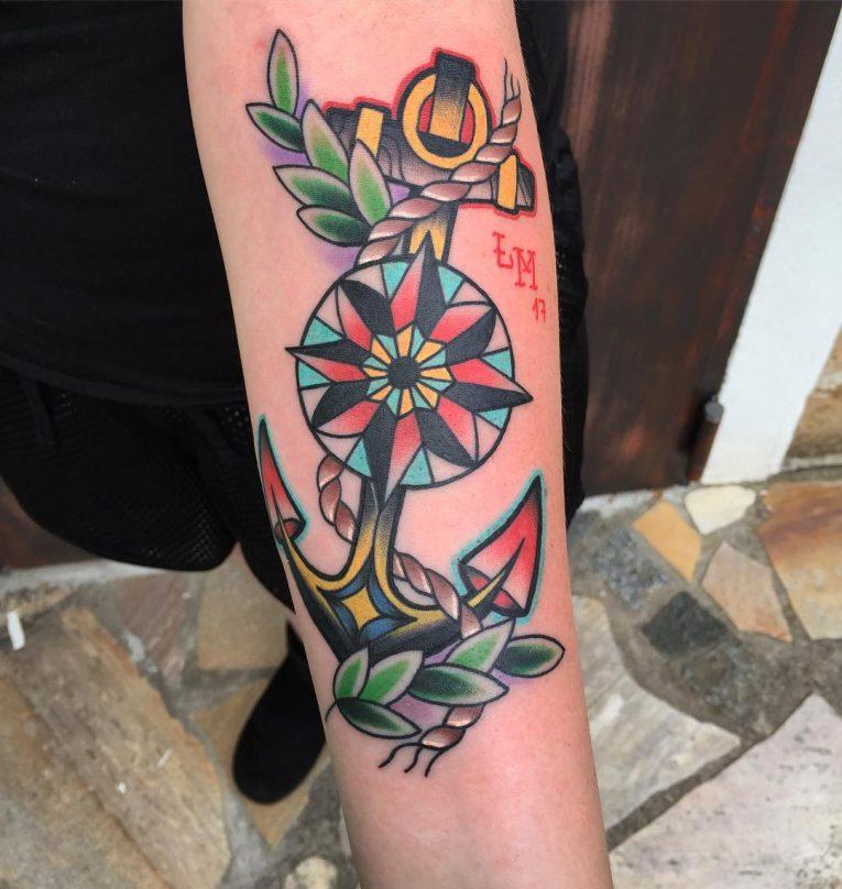 Anchor Tattoo 92