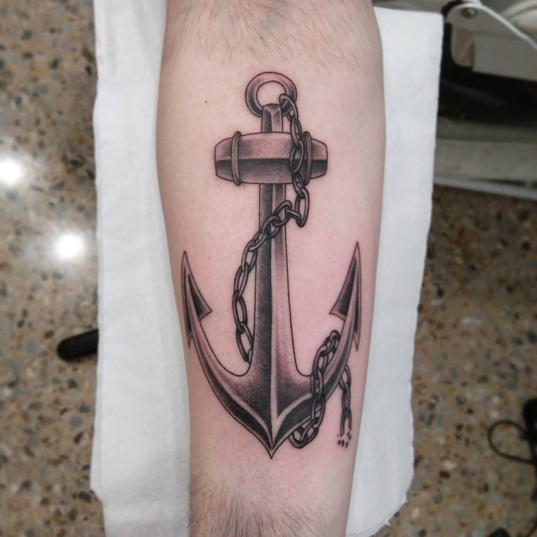 Anchor Tattoo 93