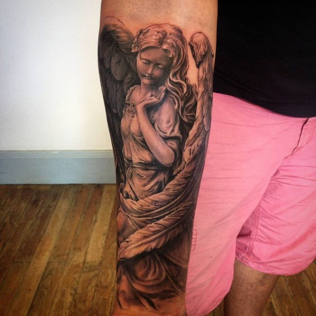 Angel Tattoo 100