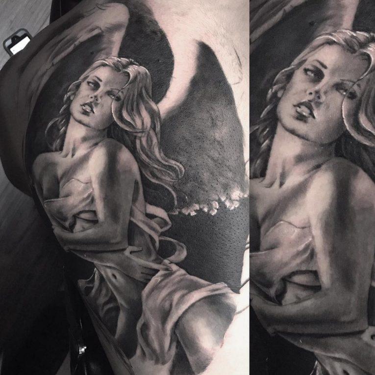 Angel Tattoo 103
