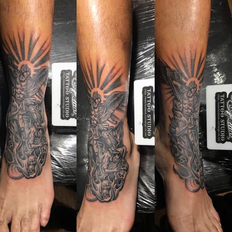 Angel Tattoo 104