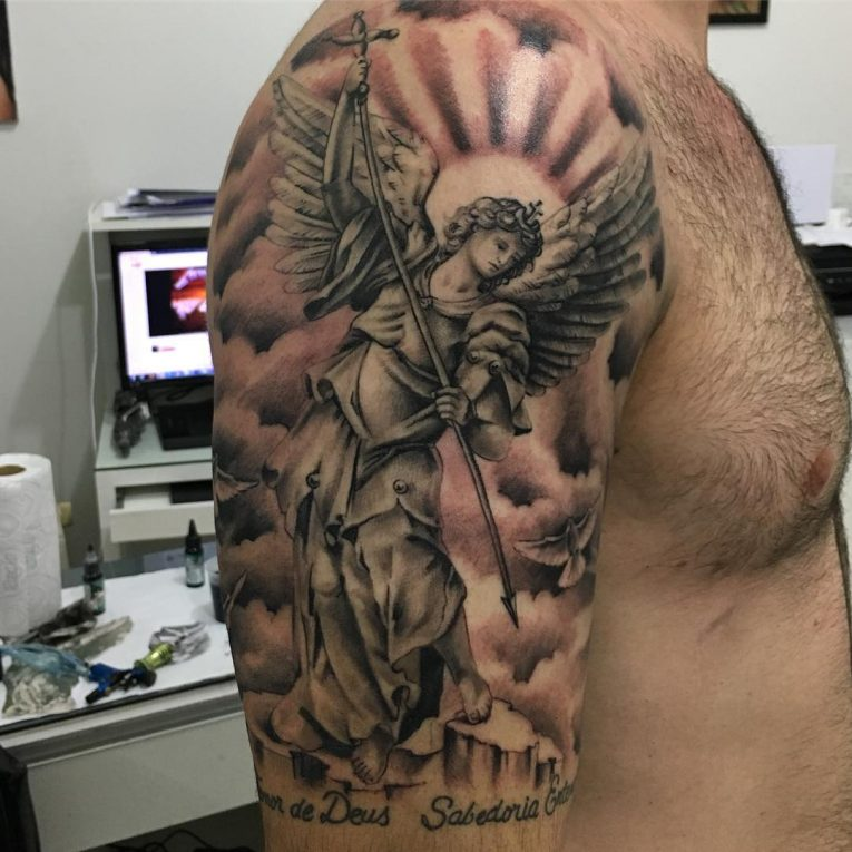 Angel Tattoo 105