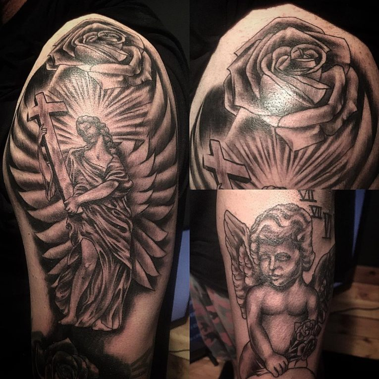 Angel Tattoo 107