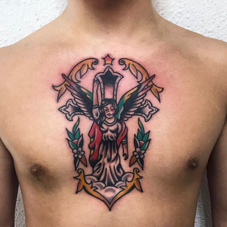 Angel Tattoo 110