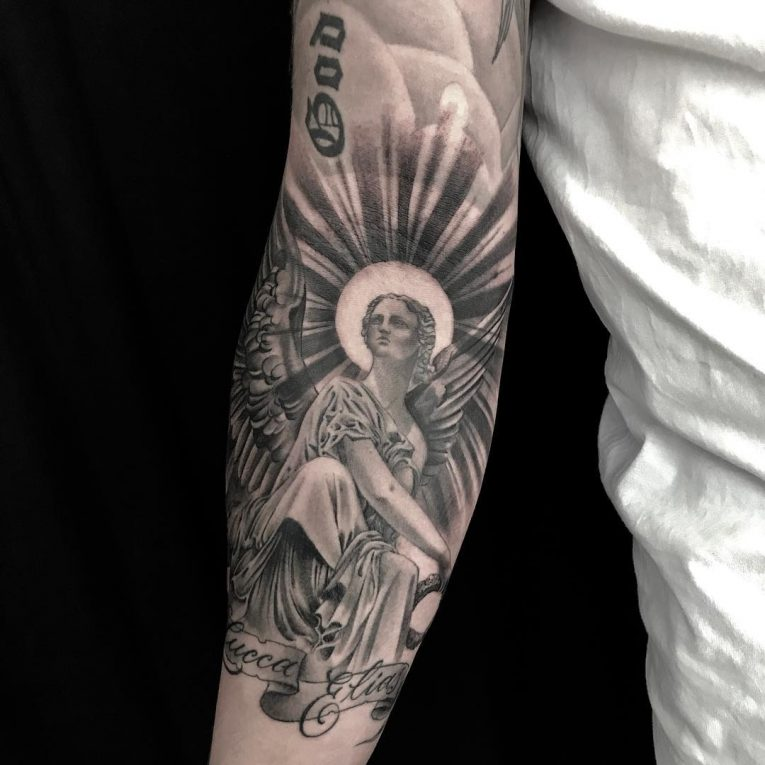 Angel Tattoo 111