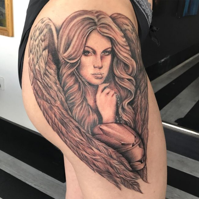 Angel Tattoo 95