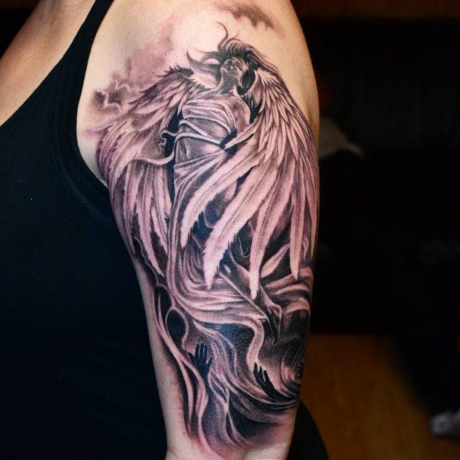 Angel Tattoo 98