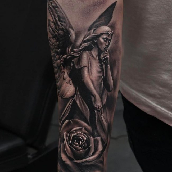 Angel Tattoo_