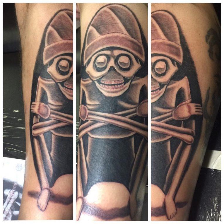 Aztec Tattoo 100