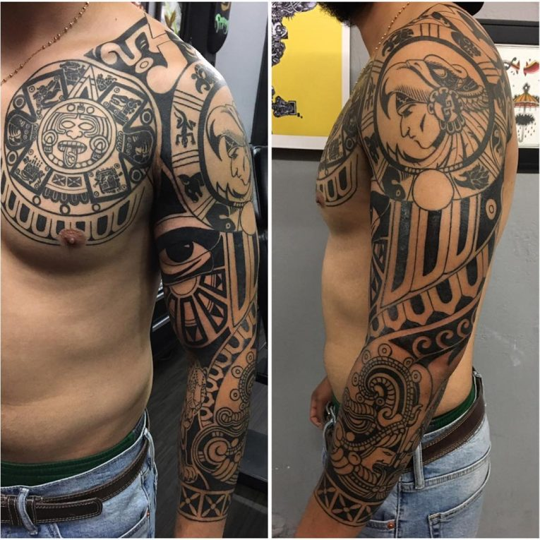 Aztec Tattoo 102