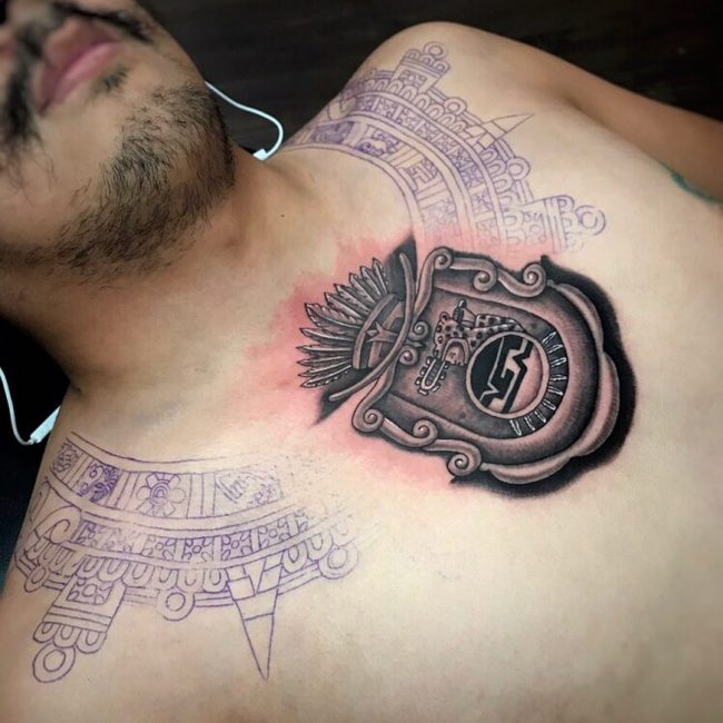 Aztec Tattoo 81