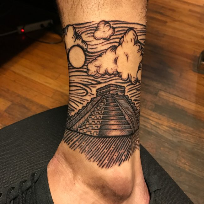 Aztec Tattoo 82