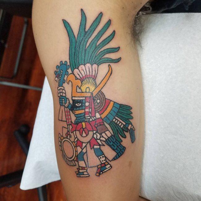 Aztec Tattoo 83