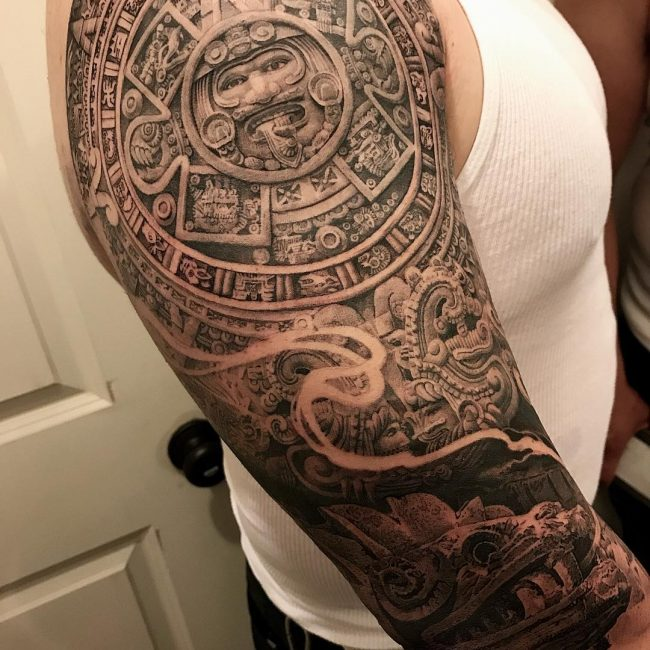 Aztec Tattoo 85