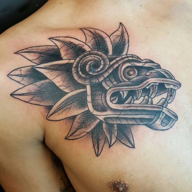 Aztec Tattoo 86