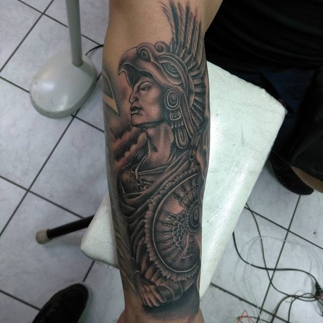 Aztec Tattoo 87