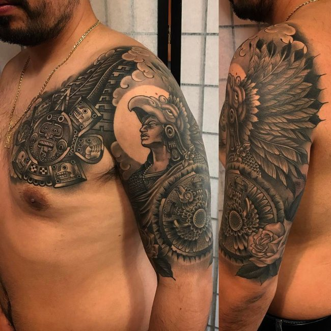 Aztec Tattoo 88