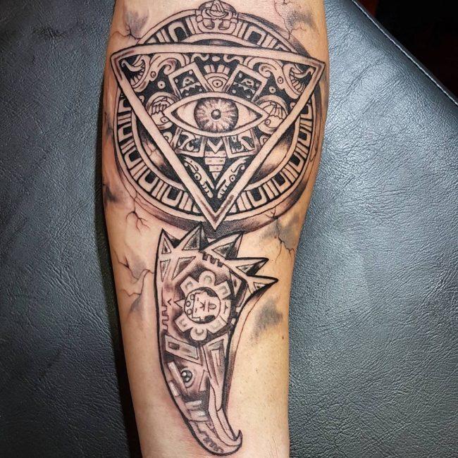 Aztec Tattoo 89