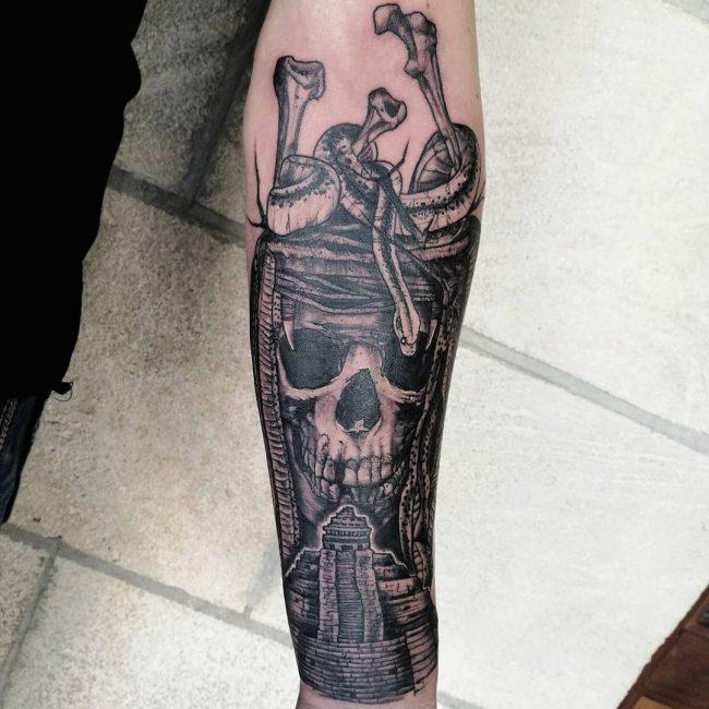 Aztec Tattoo 90