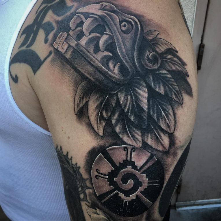 Aztec Tattoo 92