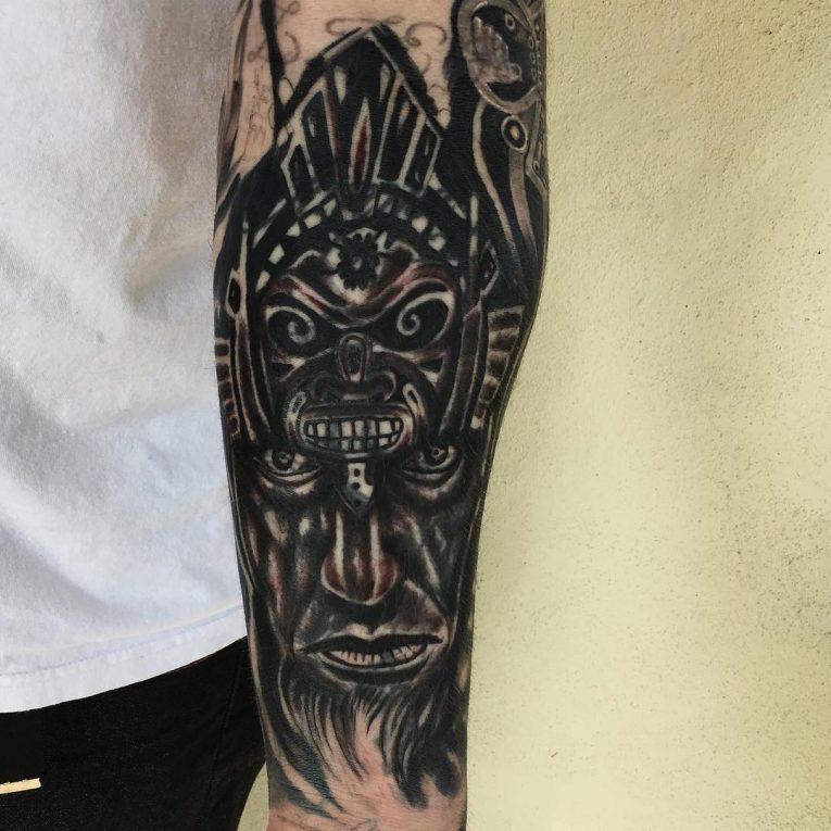 Aztec Tattoo 94