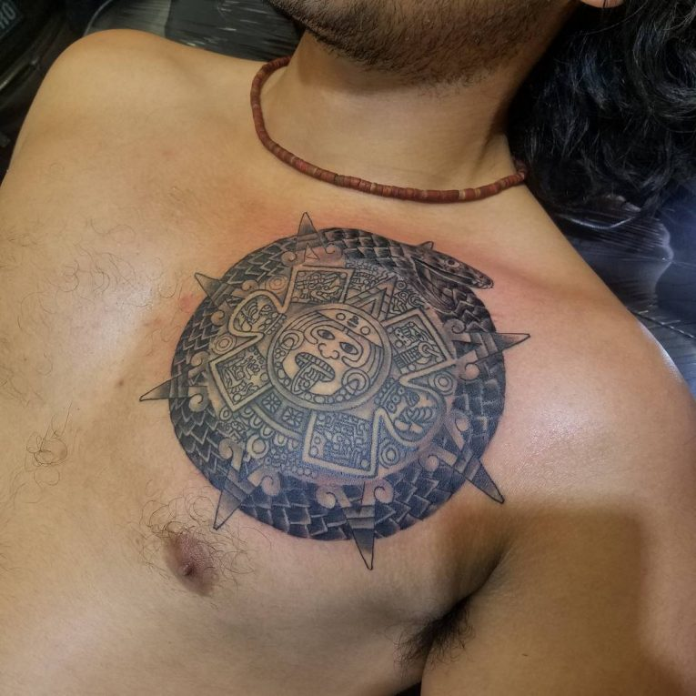 Aztec Tattoo 95
