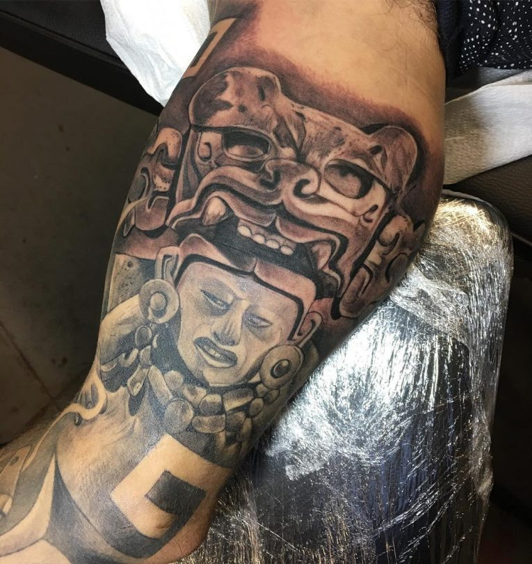 Aztec Tattoo 97
